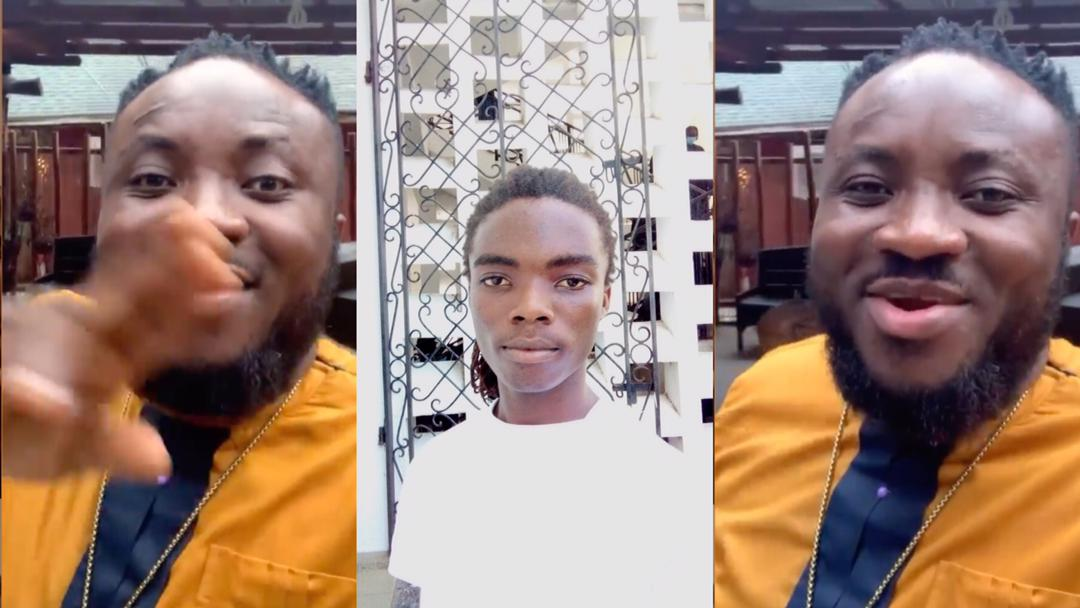 """""""Your life in Achimota School will be really hard, get ready for tough times"""" – DKB sends the perfect words to dreadlocked student, Tyrone Marhguy"""