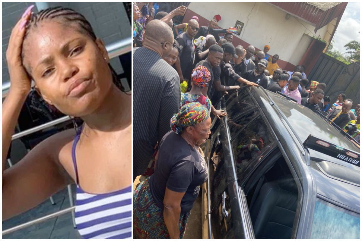 Tears flow at funeral of Iniubong Umoren, beautiful student who was r£ped  and killed while looking for a job » GhBase•com™