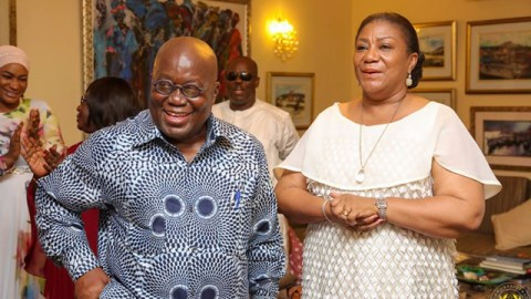 """""""My husband remains a father Ghana would be proud of"""" – First Lady celebrates President Akufo-Addo on Fathers' Day"""