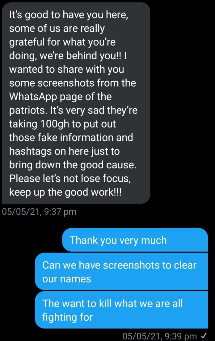 """""""We were paid GH¢100 cedis to destroy the #FixTheCountry campaign"""" – NPP supporter reveals secret, apologizes to originator Kalyjay [Details] 2"""