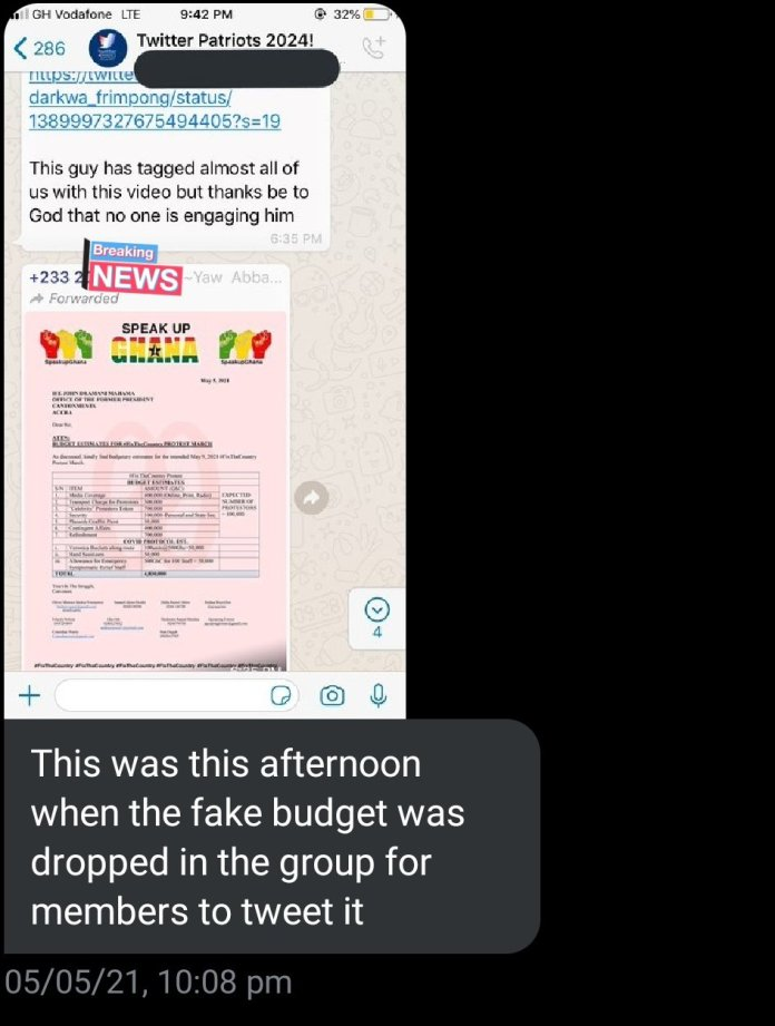 """""""We were paid GH¢100 cedis to destroy the #FixTheCountry campaign"""" – NPP supporter reveals secret, apologizes to originator Kalyjay [Details] 3"""