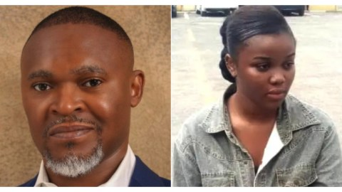 'I only stabbed him twice and fled'- Side chic who killed late CEO of Super TV confesses after she was arrested (Video)