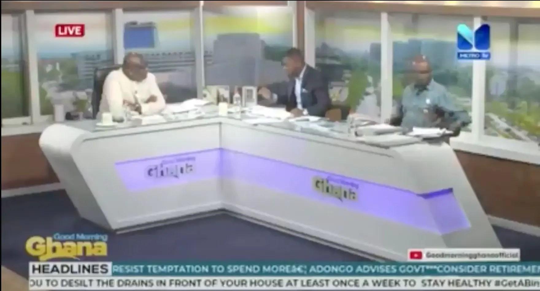 Sammy Gyamfi receives social media praise for annihilating Kweku Baako on Metro TV over $170 million judgment debt