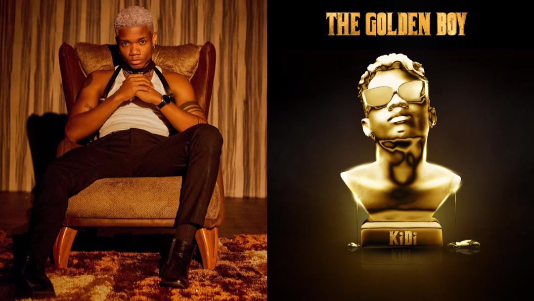 """KiDi releases second studio album, the 14 track """"Golden Boy"""" album; all you need to know about it"""