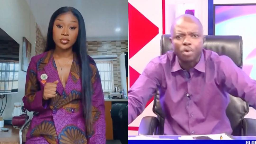 #FixTheCountry: Efia Odo to sue Abronye for falsely alleging that she's being sponsored by NDC & her house was bought by papano [Video]]