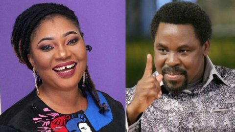 TB Joshua's spirit visited me after his death — Nollywood actress