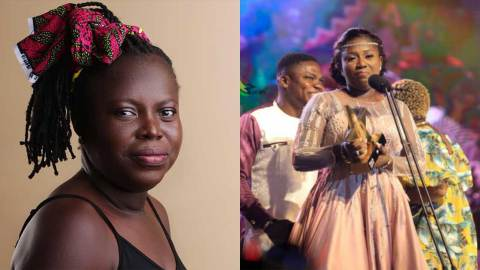 Backing vocalist who blasted Diana Hamilton for ignoring her music producer on the night of VGMA finally apologizes (+VIDEO)