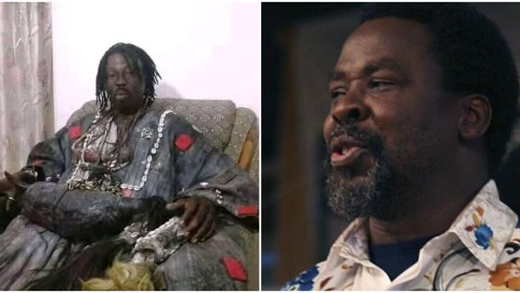 'I'm the one who killed TB Joshua, he battled me spiritually and I ended his life for killing Atta Mills'- Kwaku Bonsam (Watch)