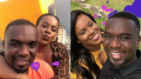 Joe Mettle's wife shares their romantic moments as she celebrates his birthday (Video)