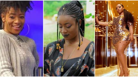 Media personality, Sister Sandy exposes Ghanaian celebs who have created a WhatsApp group to mock Moesha Boduong (Video)