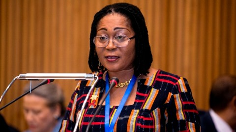 Disregard report that I have refunded allowances paid me as First Lady, it's fake– Lordina Mahama