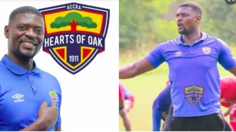 I desire to coach Black Stars – Hearts of Oak coach Samuel Boadu