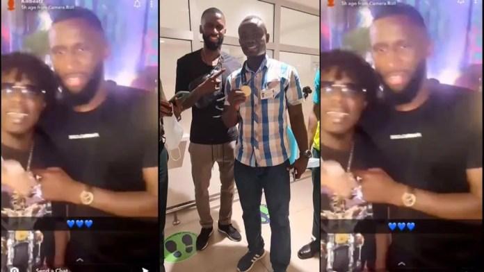 Chelsea defender Antonio Rudiger arrives in Ghana for private visit [Video]