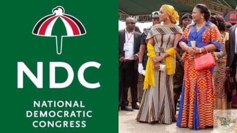 NDC sues government over salaries and allowances for First Lady and Second Lady [Details]