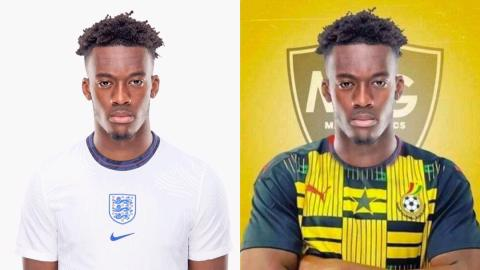 """""""I'm ready to play for the Black Stars"""" – Chelsea forward, Callum Hudson-Odoi reportedly ditches England for Ghana [Details]"""
