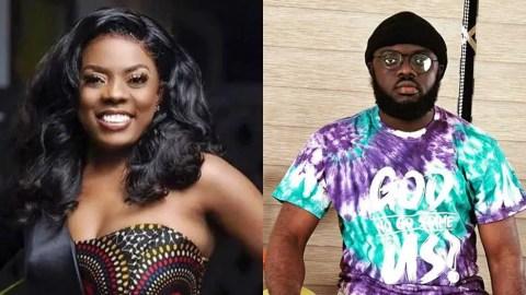 Kwadwo Sheldon descends on Nana Aba Anamoah over a tweet she sent to Akufo Addo