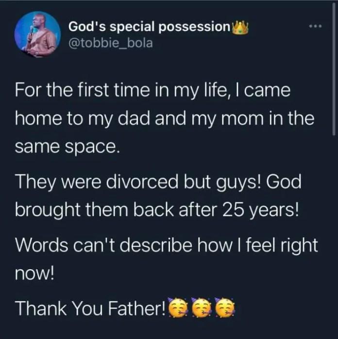 Nigeria : un homme épouse son ex-femme après 25 ans de divorce