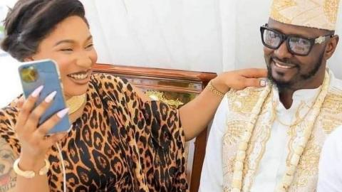 Tonto Dikeh's New Lover, Prince Kpokogiri Refuses To Defend Cheating Allegations As He Makes U-Turn