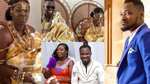 Ghanaians Mock Funny Face's Ex-Wife Over Her Third Marriage After Failing To Keep The Previous Two