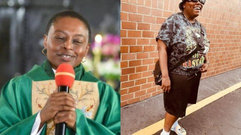 Drama as female pastor makes church members sing Teni's 'Case' song passionately in church (Watch)