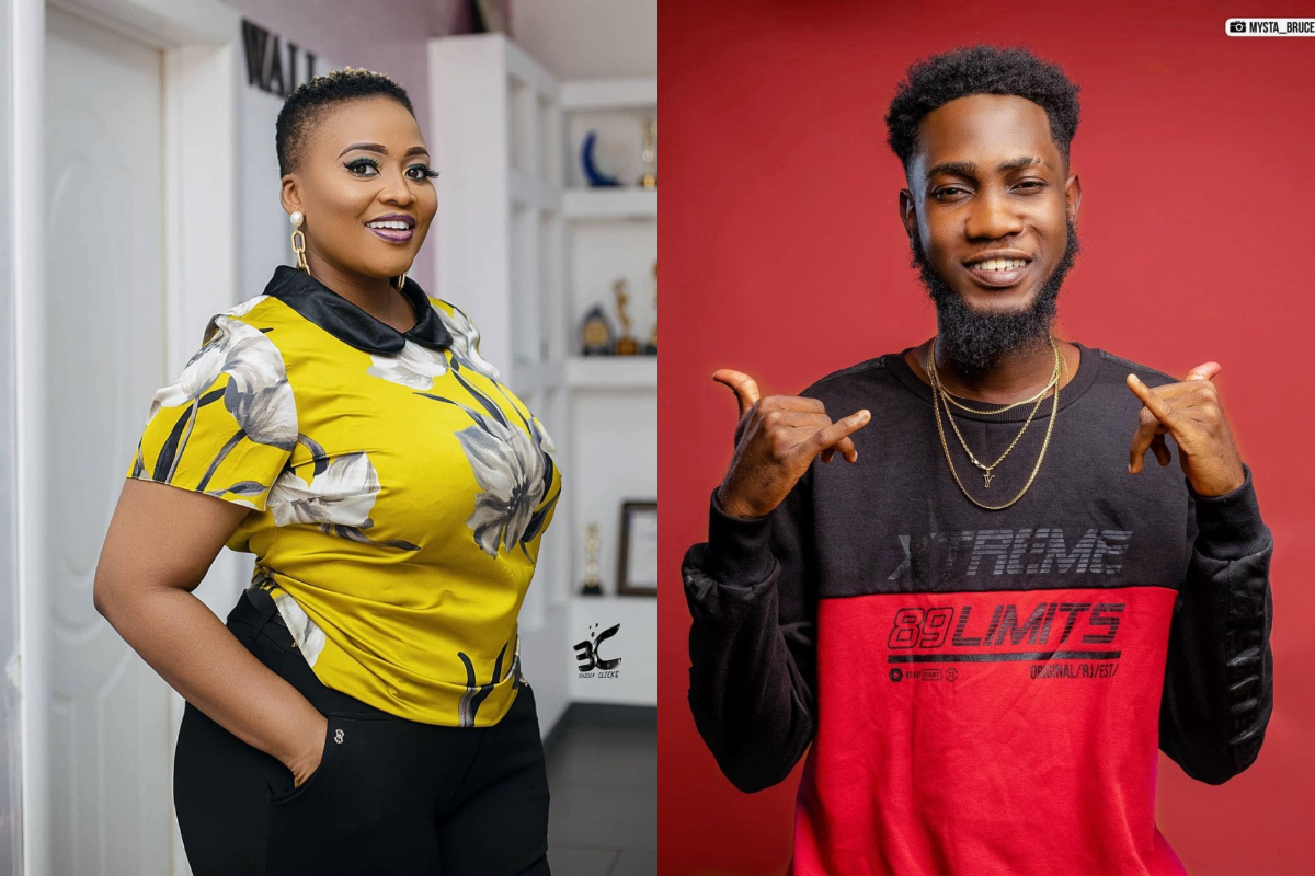 Some Media Personalities are obviously looking at belittling the Kumerican artistes especially MzGee as she has triggered fans in a recent video that has surfaced online.