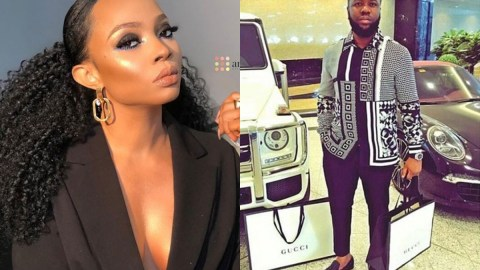 Hushpuppi Reportedly Fingers Toke Makinwa As His Accomplice [Details]