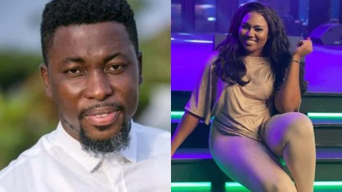 Abena Korkor Fires A Plus For Insulting Her, Tells Him He Can't Shut Her With His Loudmouth That Speaks No Sense