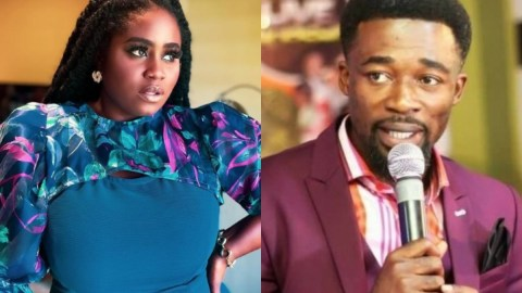 Lydia Forson Reverts Eagle Prophet's Death Prophecy To Him After Claiming She'll Be Involved In An Accident