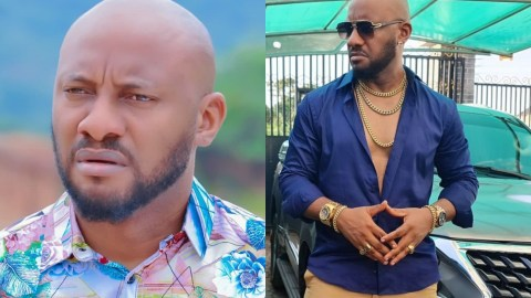 Don't Borrow Money To Do A Fancy Wedding And Go Broke After Marriage – Yul Edochie Advises Young Couple