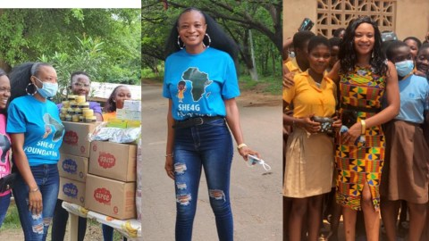 Meet Vanessa Asilgya Nimatu, The Lady Changing The Lives Of Young Girls Across Ghana Through Her SHE4G Foundation