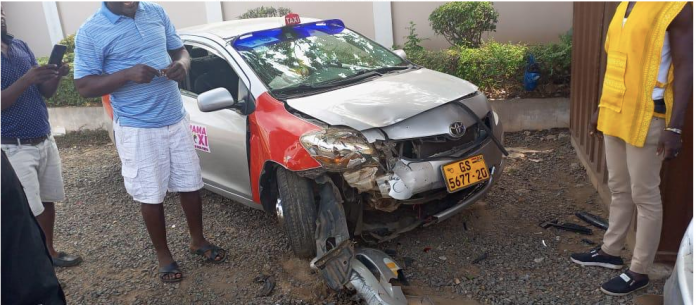 Photos: 'Mama Taxi' Series Lead Cast Involved In An Accident 1