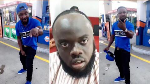 """""""I'm going to beat you up for disrespecting Sarkodie"""" — Archipalago threatens Kwadwo Sheldon [Video]"""
