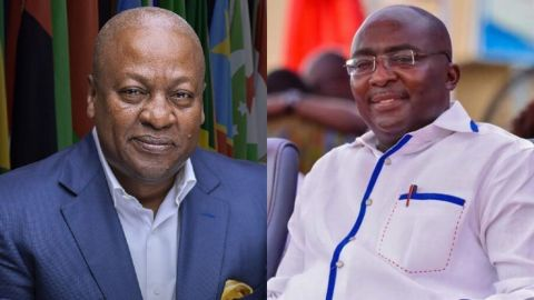 """""""You can do propaganda with the economy, but people'slives will expose you"""" – Mahama jabs 'dishonest' Bawumia"""