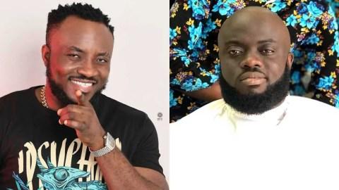 """The last time you made a funny joke, I had a hairline"" – Kwadwo Sheldon mocks DKB"