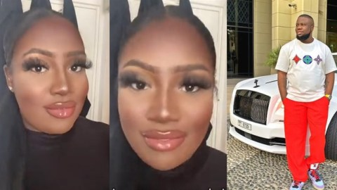 Alleged former wife of Hushpuppi pops up, confesses she married him for his money (Watch)