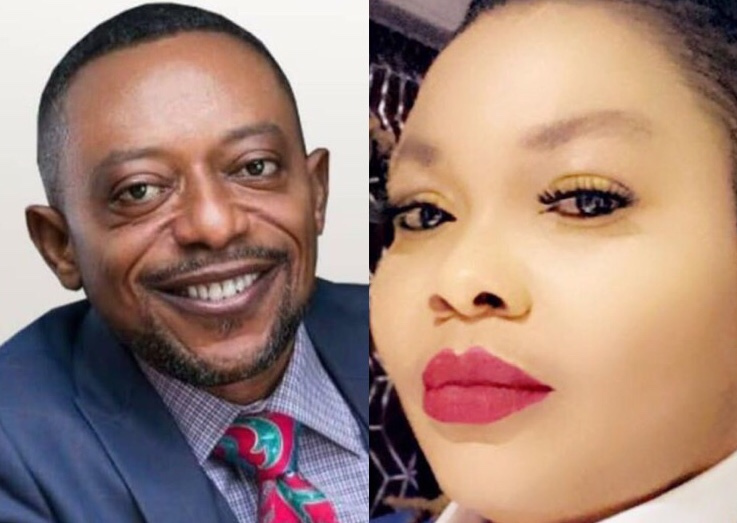 Nana Agradaa Attacks Rev. Owusu Bempah Personality As She Puts His Picture In A Water Closet, Flushes
