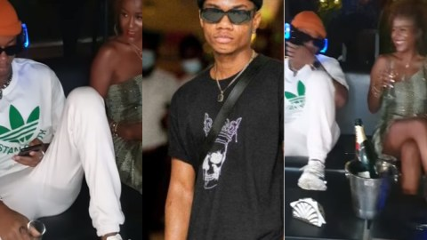 KiDi boldly shows off alleged girlfriend in public for the first time (Watch)