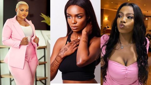 BBNaija 2021: JMK Blasts Peace For Spreading Negative Rumors About Angel And Her That They Bath And Sleep With The Male Housemates