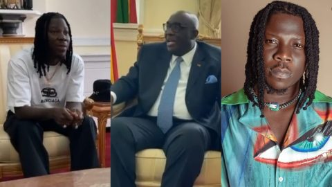 Ghana's High Commissioner To UK In Shock After Stonebwoy Revealed That He Got Only 2000 Cedis As Royalties From GHAMRO