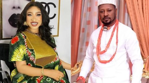 Check Out The Leak Audio Purported To Be Tonto Dikeh's New Boyfriend, Prince Kpokogiri Talking About Giving His Side Chick A Quicky