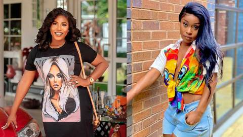 Your indecent dressing on social media is not helping the cause of the FixTheCountry campaign – Victoria Lebene subtly jabs Efia Odo