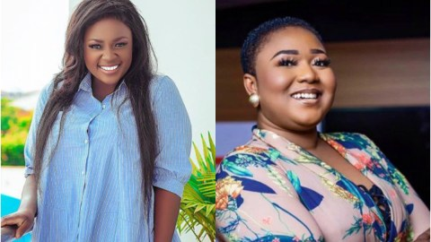 Xandy Kamel thanks Tracey Boakye beforehand for the car she would buy for her in future