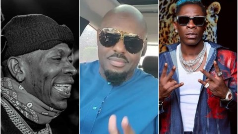 Shatta Wale gets brutal answer from fan for saying he looks like Nigerian actor Jim Iyke