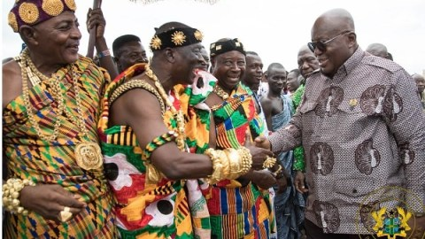 Krachi paramount chief apologises to Akufo-Addo for failing to give NPP a parliamentary seat in the area
