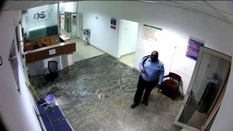 Accraaaaaa! A dark looking old man with massive pot belly wanted for stealing laptops at BOST