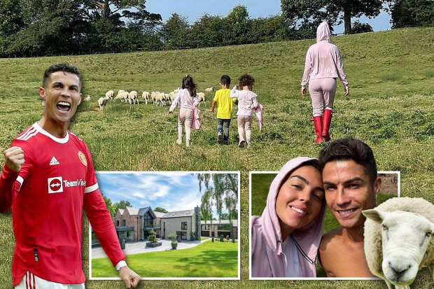 Cristiano Ronaldo switches mansions after bleating sheep kept waking him up
