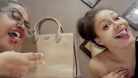 Nadia Buari Shares Adorable Mummy And Daughter Moments With Her Look Alike Mother (photos)
