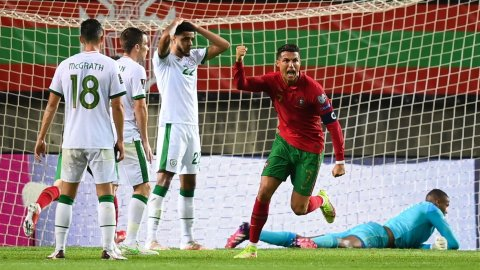 Cristiano Ronaldo becomes the highest-scoring man in international football history with his 110th goal for Portugal