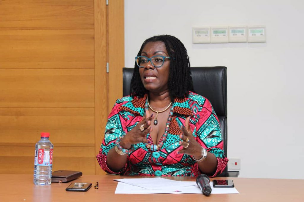 """Upcoming National SIM Registration: """"You need a Ghana Card to acquire a new sim card"""" – Ursula Owusu-Ekuful gives details"""