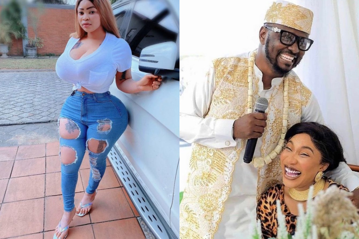 Roman Goddess Shades Tonto Dikeh As She Tells Her To Never Do The Wifey Sh!t For Any 'Ashawo' Man